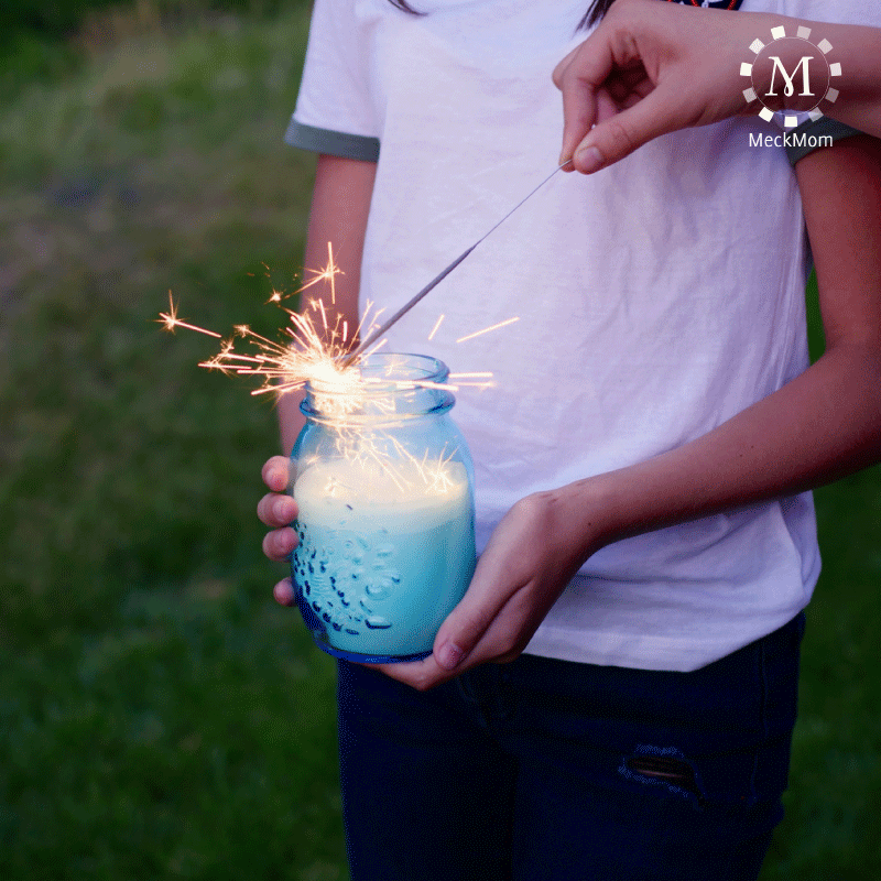 4th of July Mom Hacks: Sparkler Candle