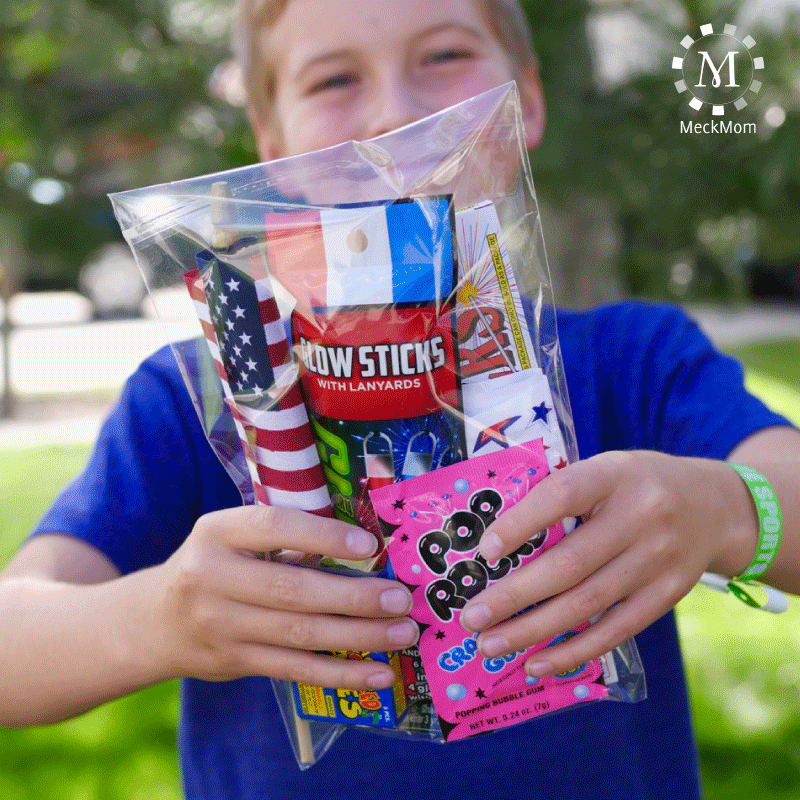 4th of July Mom Hacks: To-Go Bags for Kids