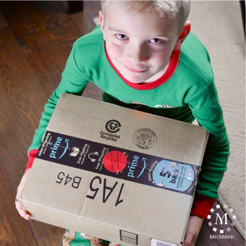 Hide Christmas presents in plain sight with security stickers