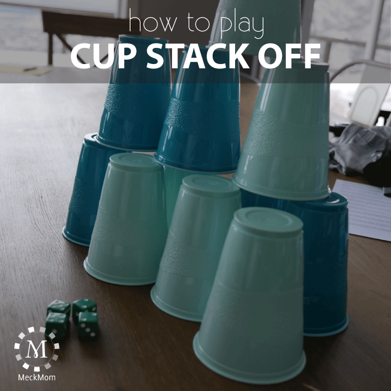 How to play the game Cup Stack Off