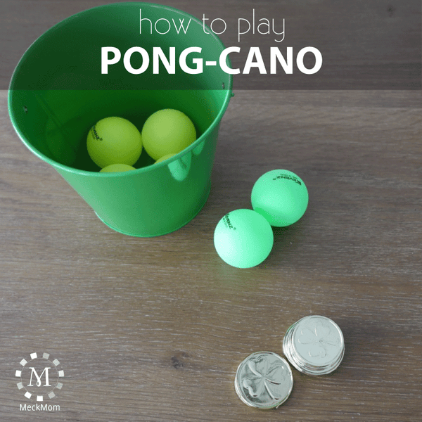 How to play the game Pong-cano