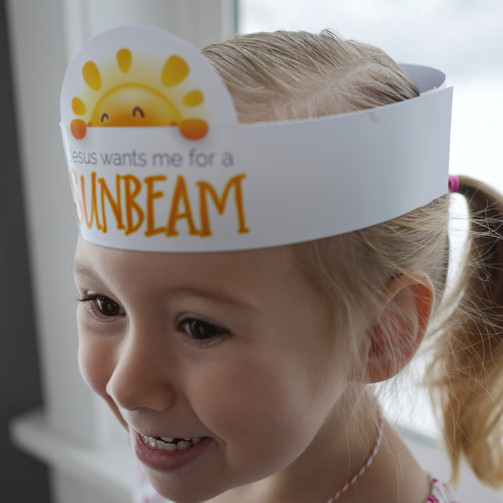 Welcome new Sunbeams to primary with this cute kit
