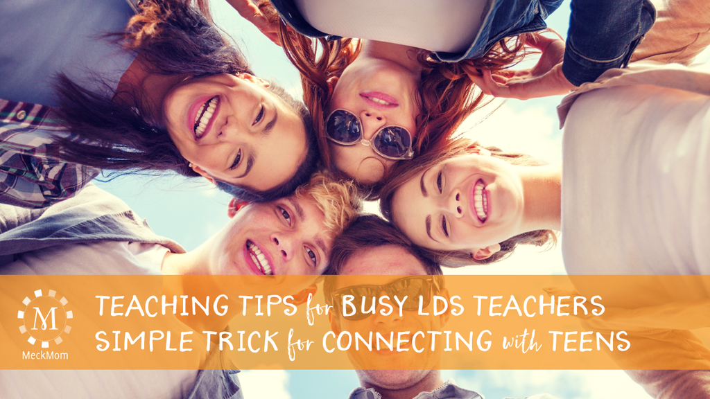 Simple tips for loving the teens you teach