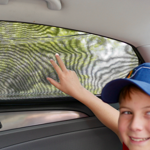 Road Trip Hacks Window Sun Shields