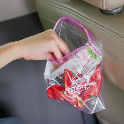 Road Trip Hacks Garbage Bags