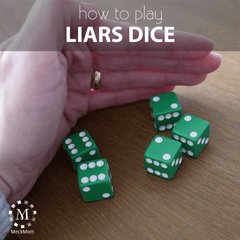 How to play liar's dice party game