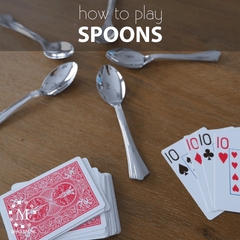 How to play the party game spoons