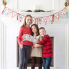 FREE 12-Day Christmas Advent Banner & Flag-Decorations-MeckMom