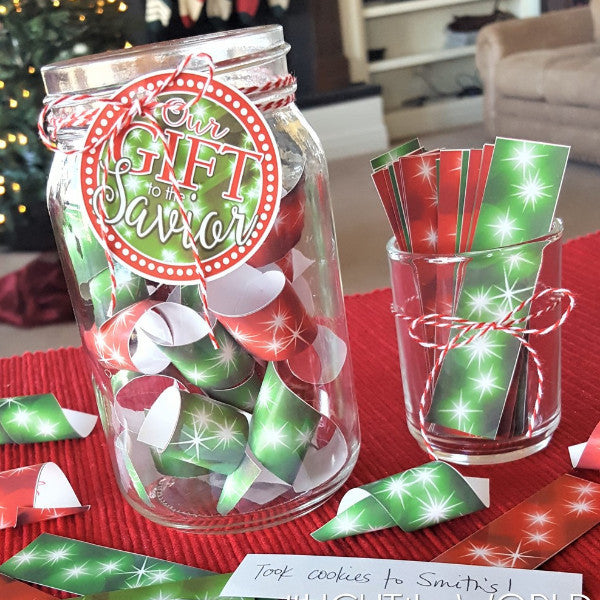 FREE Family Service Jar Kit for #LIGHTtheWORLD-Decorations-MeckMom