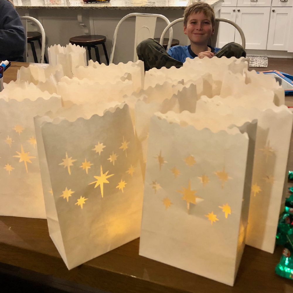FREE Luminary Card Printable for #LightTheWorld-Gifts-MeckMom