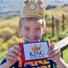 King of the Cousins Printable Candy Bar Medal Tags-Party Kits-MeckMom