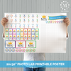 King of the Cousins Printable Score Sheet Poster-Party Kits-MeckMom