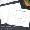 Editable Weekly Mom Game Plan Calendar-Organization Tools-MeckMom