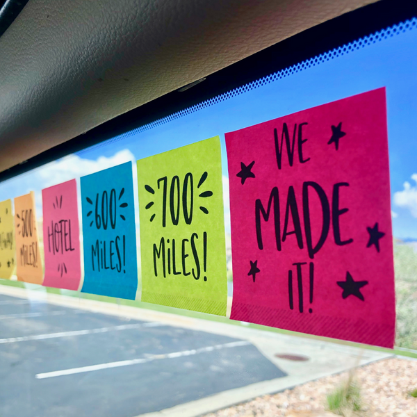 Family Road Trip Mile Marker Printable-Family Fun-MeckMom
