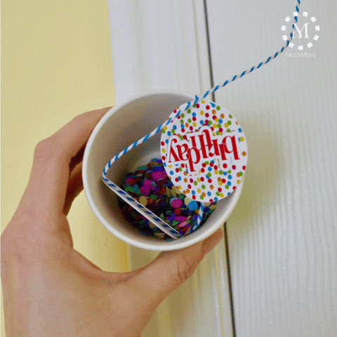 Birthday Hack Confetti Cup Step 3