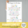Primary Song Kit: I'm Trying to Be like Jesus (APRIL 2017)-Games-MeckMom