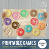 Printable Games: Doughnut Time!-Games-MeckMom