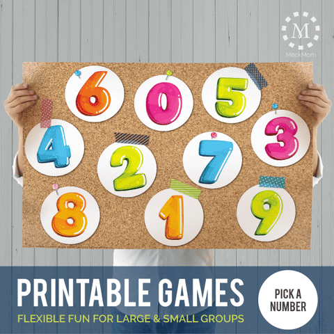 Printable Games: Pick a Number-Games-MeckMom
