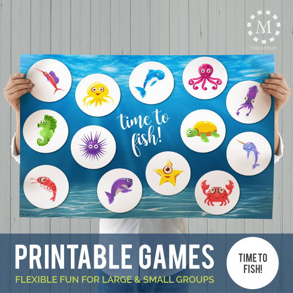 Printable Games: Time to Fish-Games-MeckMom