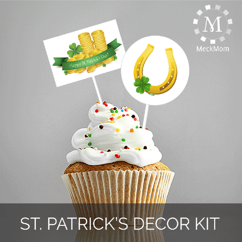 St. Patricks Party Decoration Set-Party Kits-MeckMom
