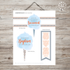 Baptism Talk Object Lesson: Cotton Candy Set for Boys-Handouts-MeckMom