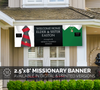 Missionary Welcome Home Banner: Horizontal Design for Couples-Banner-MeckMom