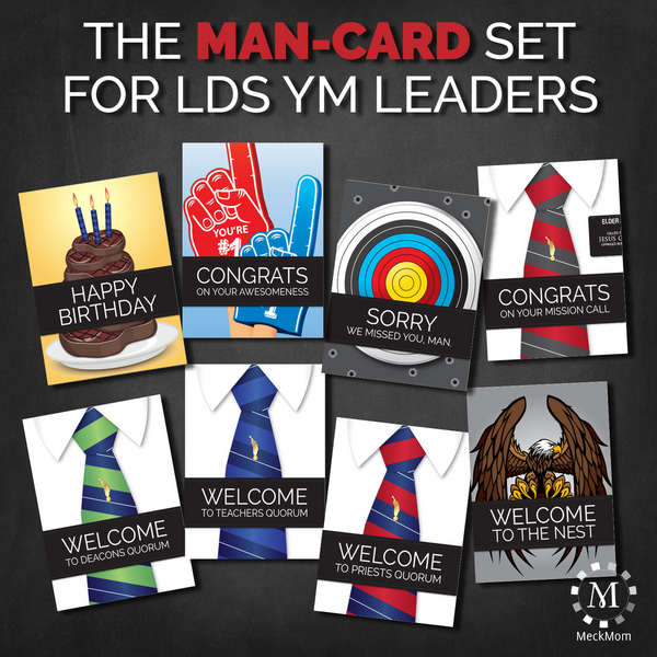 Man Cards for YM Leaders: Full Set-Cards-MeckMom