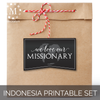 Missionary Decoration Set for Elders: International Missions (by Country)-Decorations-MeckMom