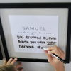 We Love You Because Name Frames Printable-Decorations-MeckMom