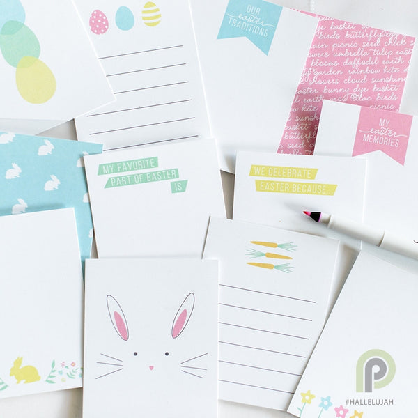FREE Easter Journaling Card Kit from Persnickety Prints-Easter Kits-MeckMom
