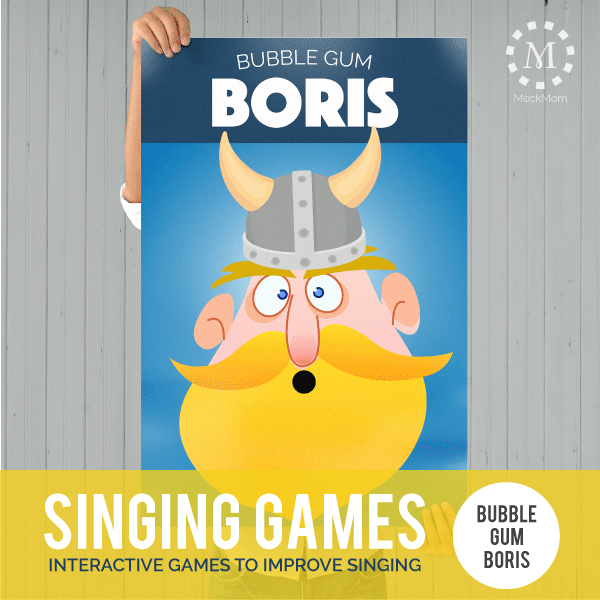Singing Time Games: Bubble Gum Boris-Games-MeckMom