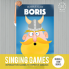 Bubble Gum Boris Singing Time Poster-Games-MeckMom