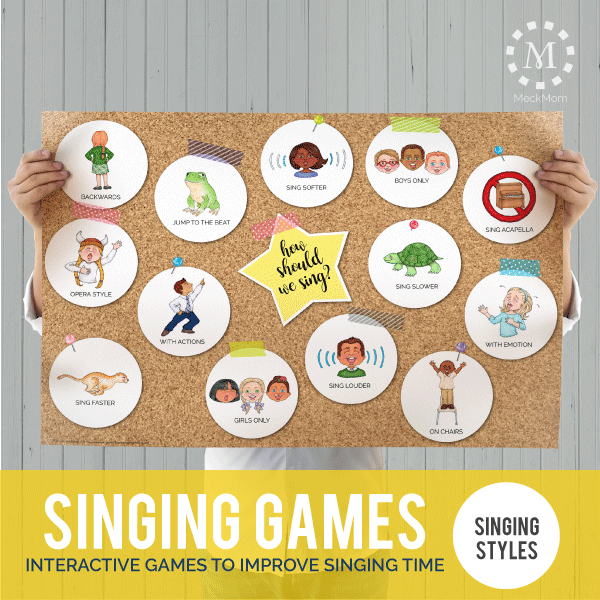 Primary Games: Singing Styles-Games-MeckMom