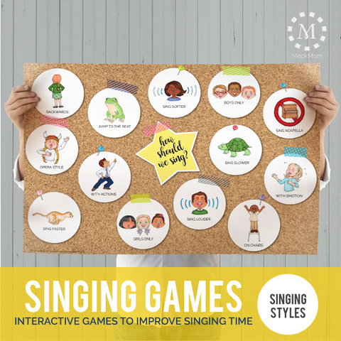 Primary Singing Styles Poster