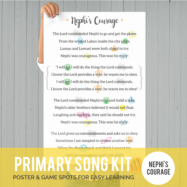 Primary Song Kit: Nephis Courage-Games-MeckMom