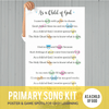 Primary Song Kit: As a Child of God (JANUARY 2017)-Games-MeckMom