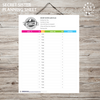 Girls Camp Secret Sister Kit-LDS Printable-MeckMom