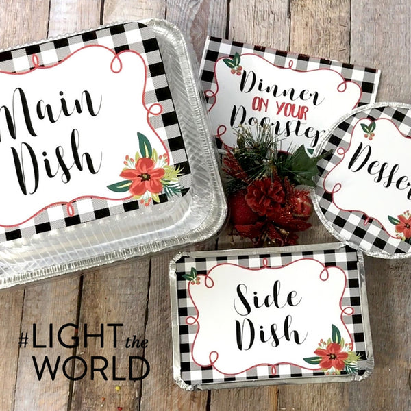 FREE Dinner on Your Doorstep Kit for #LIGHTtheWORLD-Handouts-MeckMom