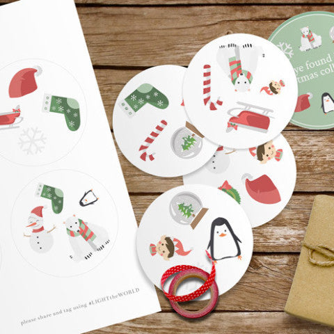FREE Christmas Quality Time Kit for #LIGHTtheWORLD-Games-MeckMom