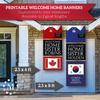 Missionary Welcome Home Banner: Vertical Sweater Design for Sisters-Banner-MeckMom
