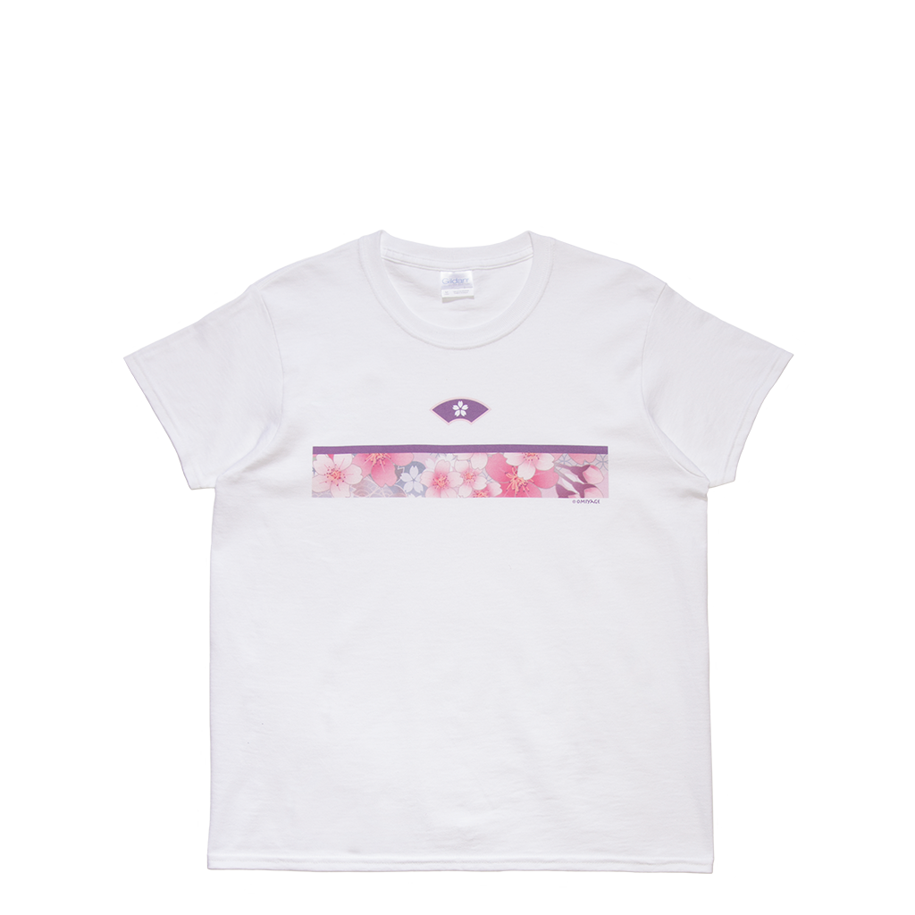 Cherry Blossom Stripe Women's Tee