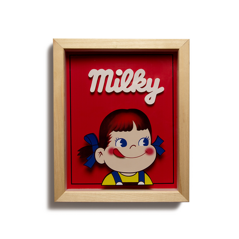 "Milky Girl 3D Laser Cut - 9"" x 11"""