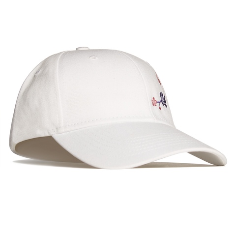 Cherry Blossom Hat - White