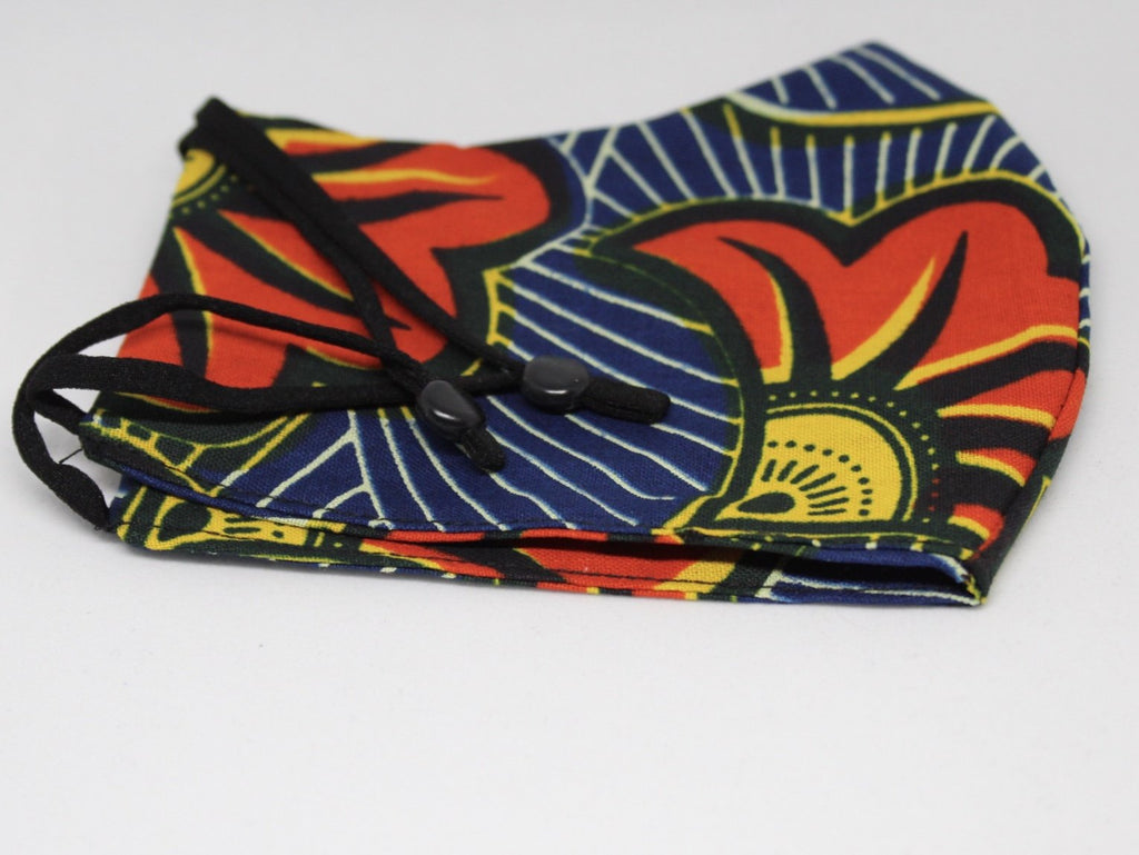 African Print Face (Covering) Mask