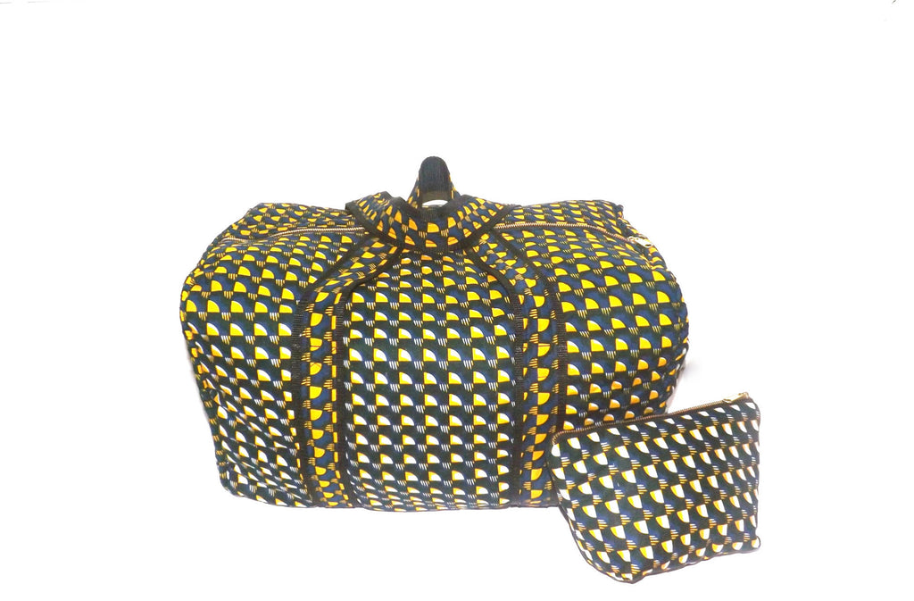 Weekender and Cosmetic Bag Set