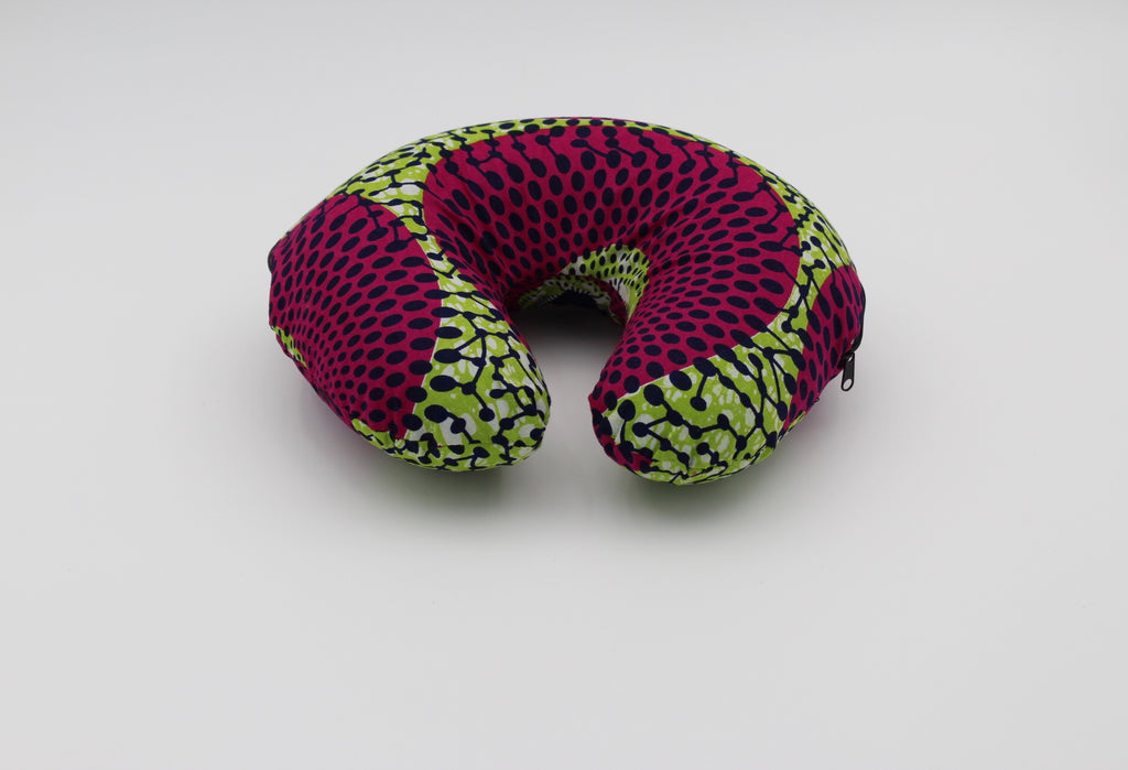 African Print U-Shape Travel Neck Pillow