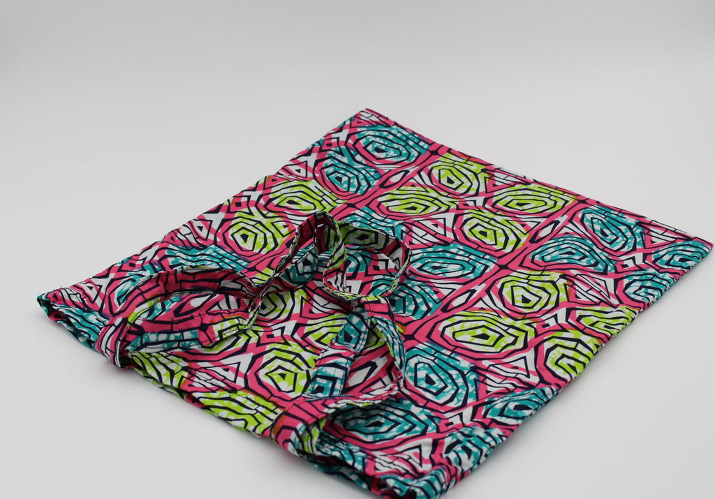 Stylish African Print Tote Bag