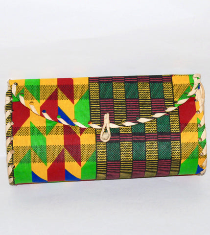Small Wooden Handle Clutch