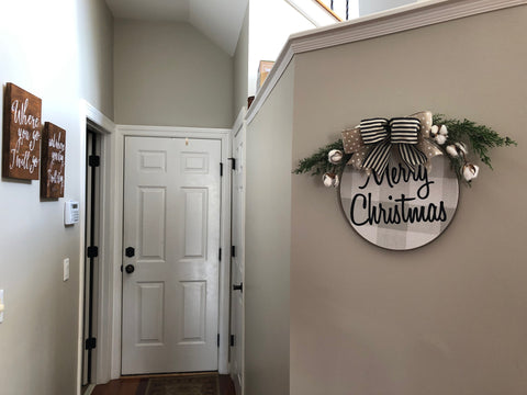 theburlapcottage christmas wreath
