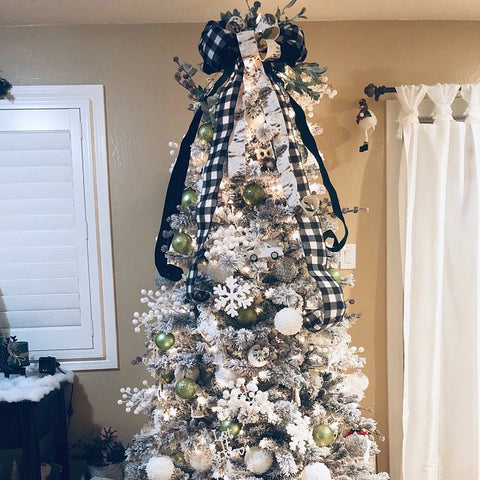 theburlapcottage christmas tree topper